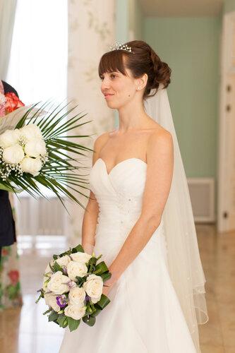 Фото в свадебном платье милани