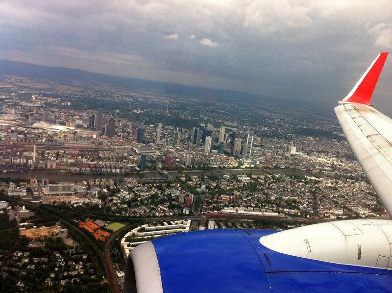 Франкфурт с высоты