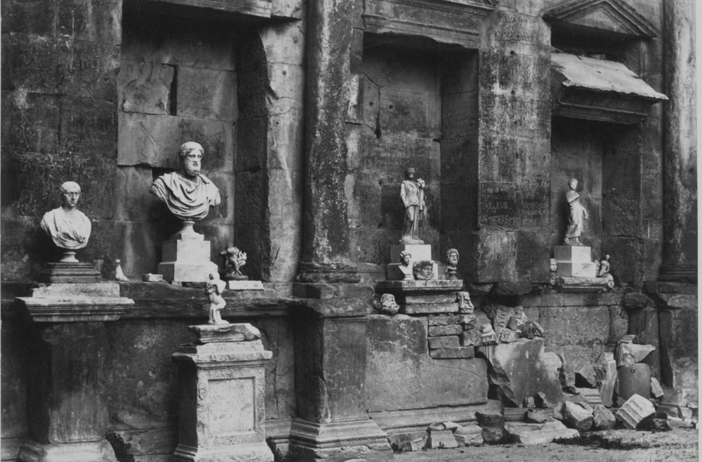 Ним. Храм Дианы, 1859
