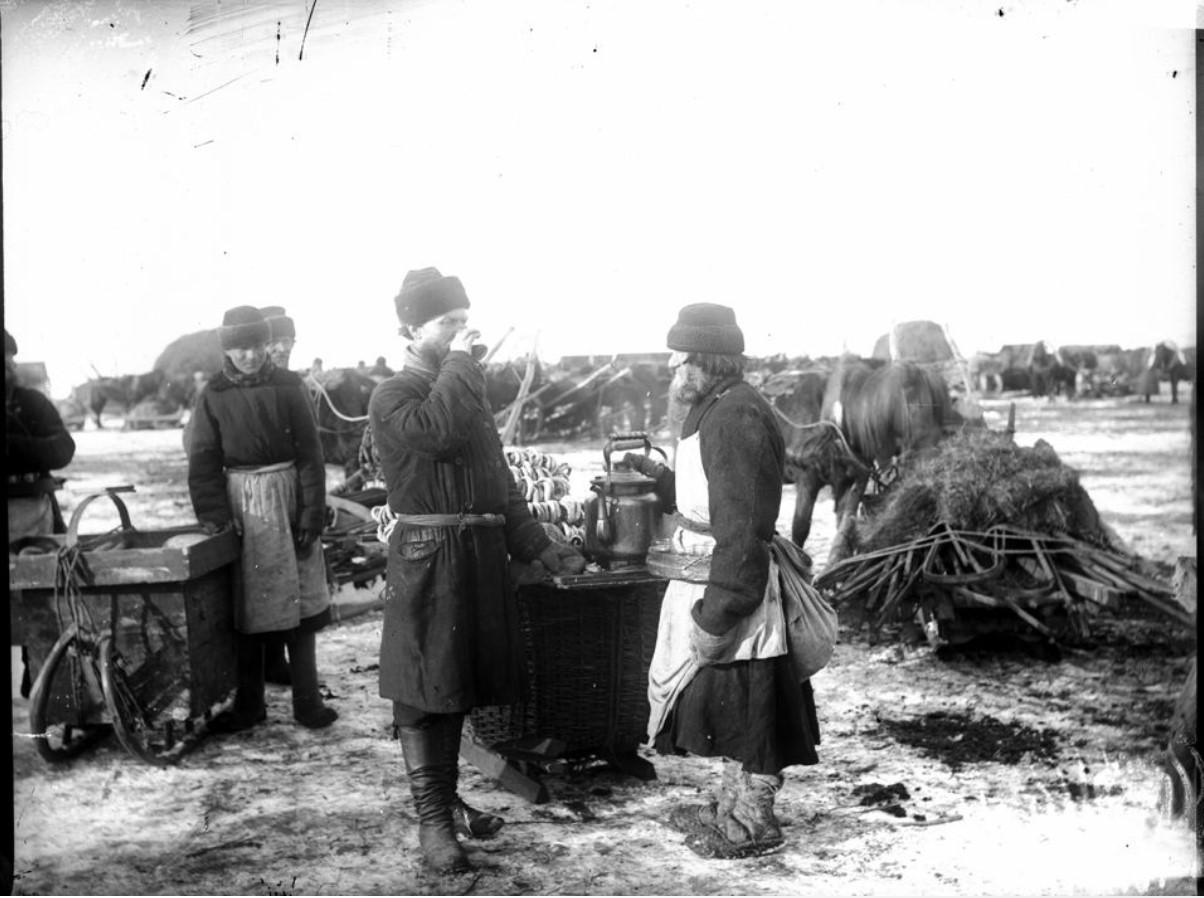 Торговля сбитнем. 1894