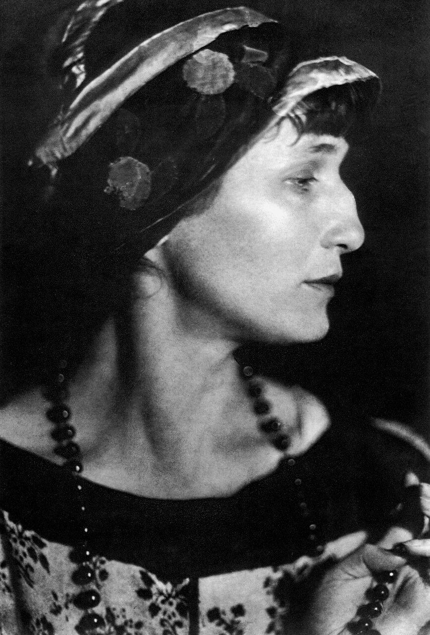 А. А. Ахматова. 1924 год