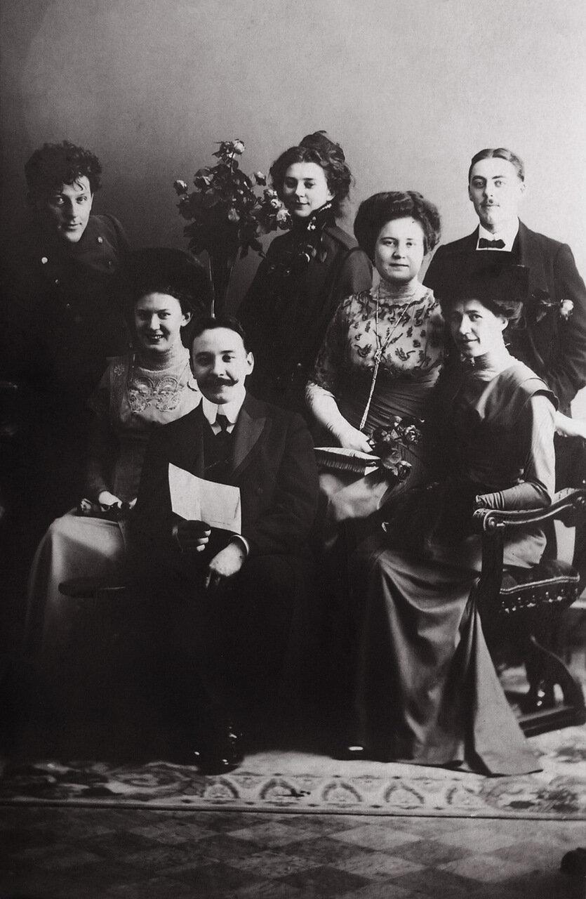 Вербный базар в благородном собрании Москвы. 1910