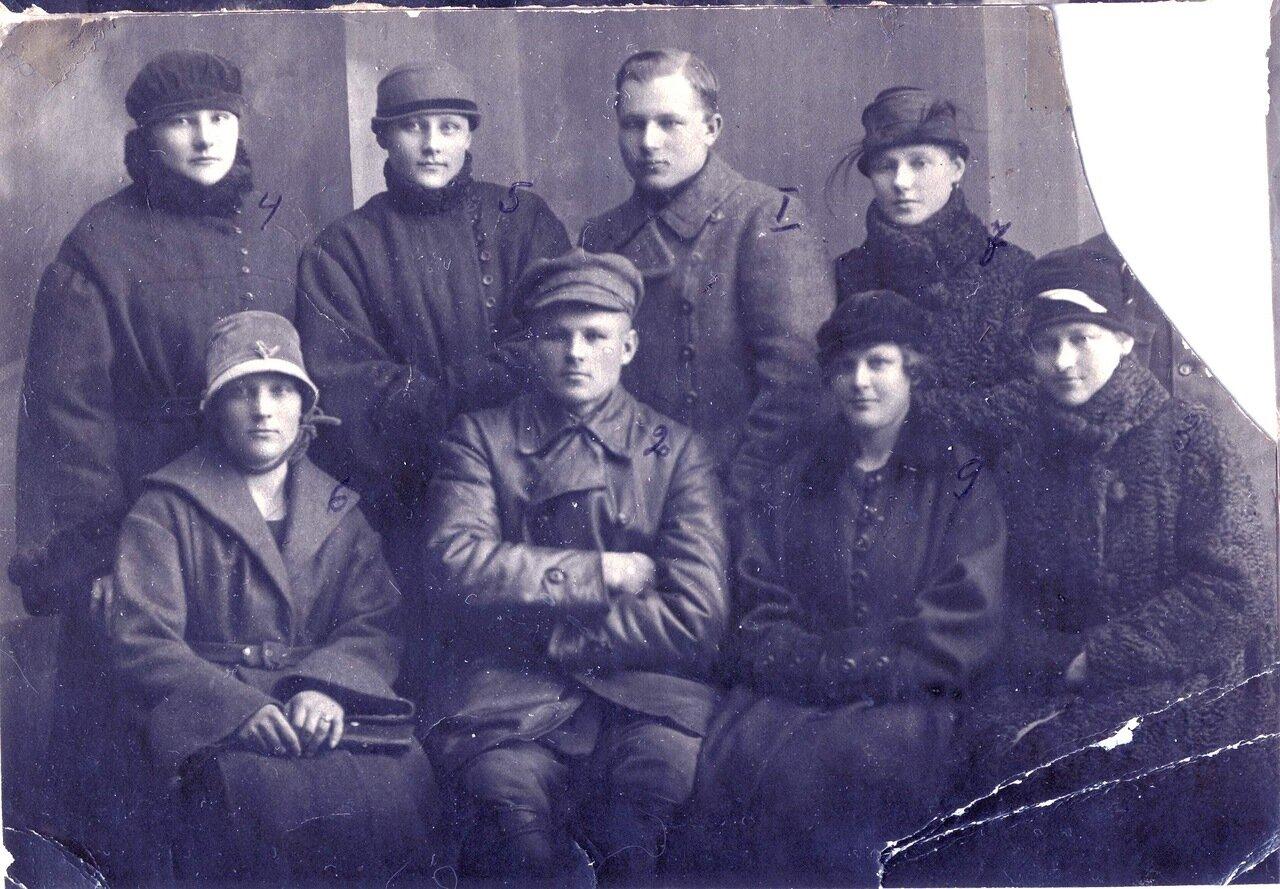 1920-е. Сибирь, жены комсостава