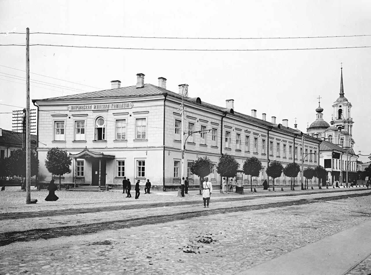 Общий вид Мариинской женской гимназии. 1903 г.