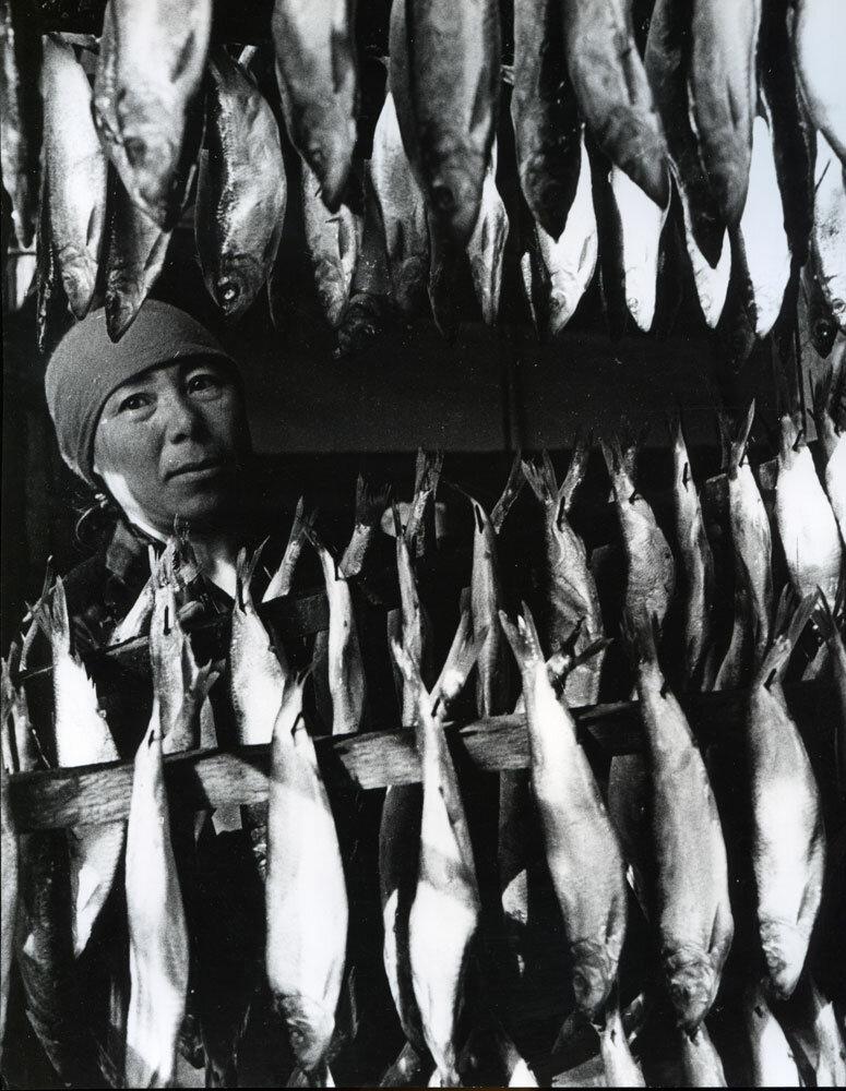 Сушение рыбы