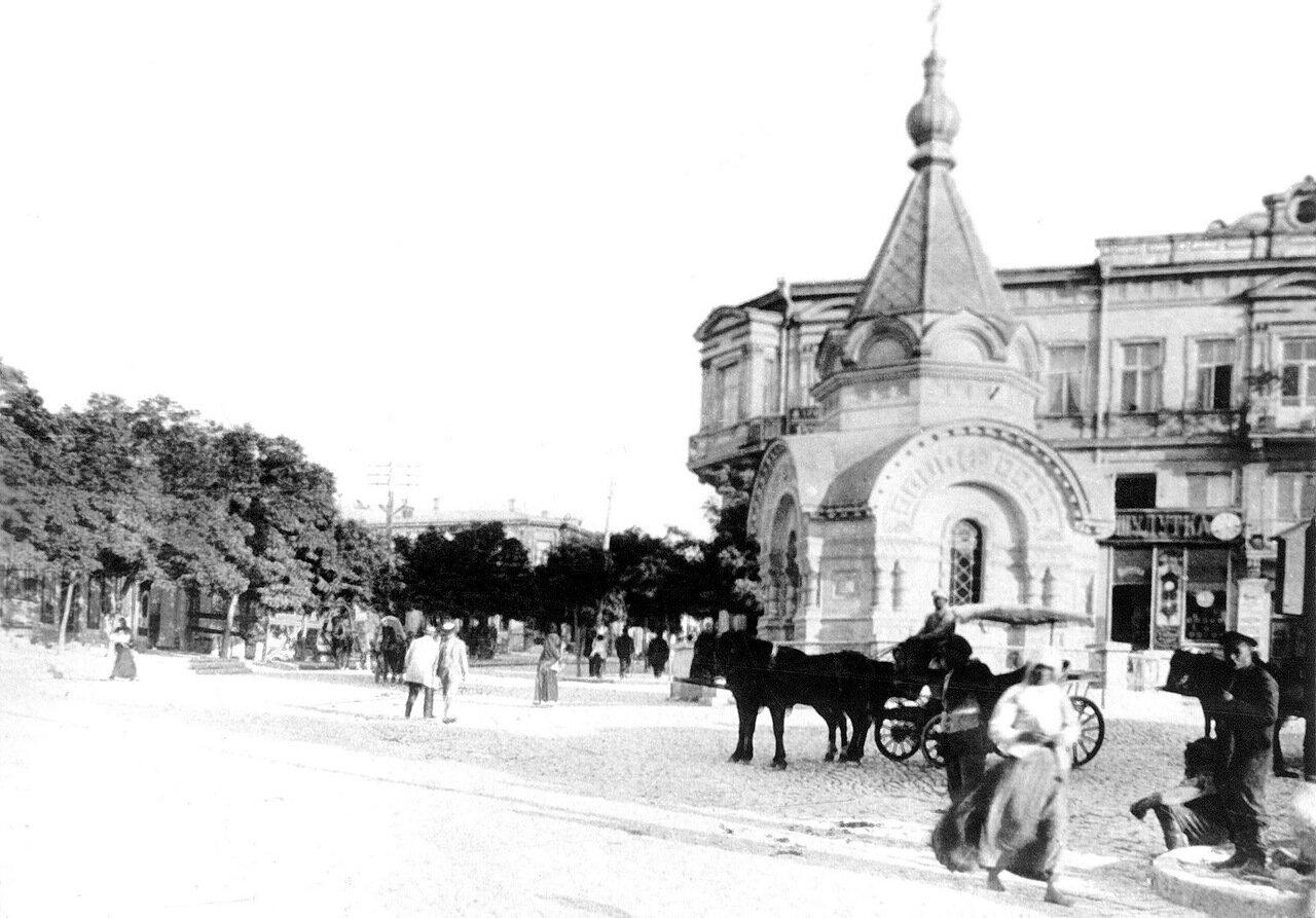 Часовня св.Николая. Освящена 6 декабря 1893