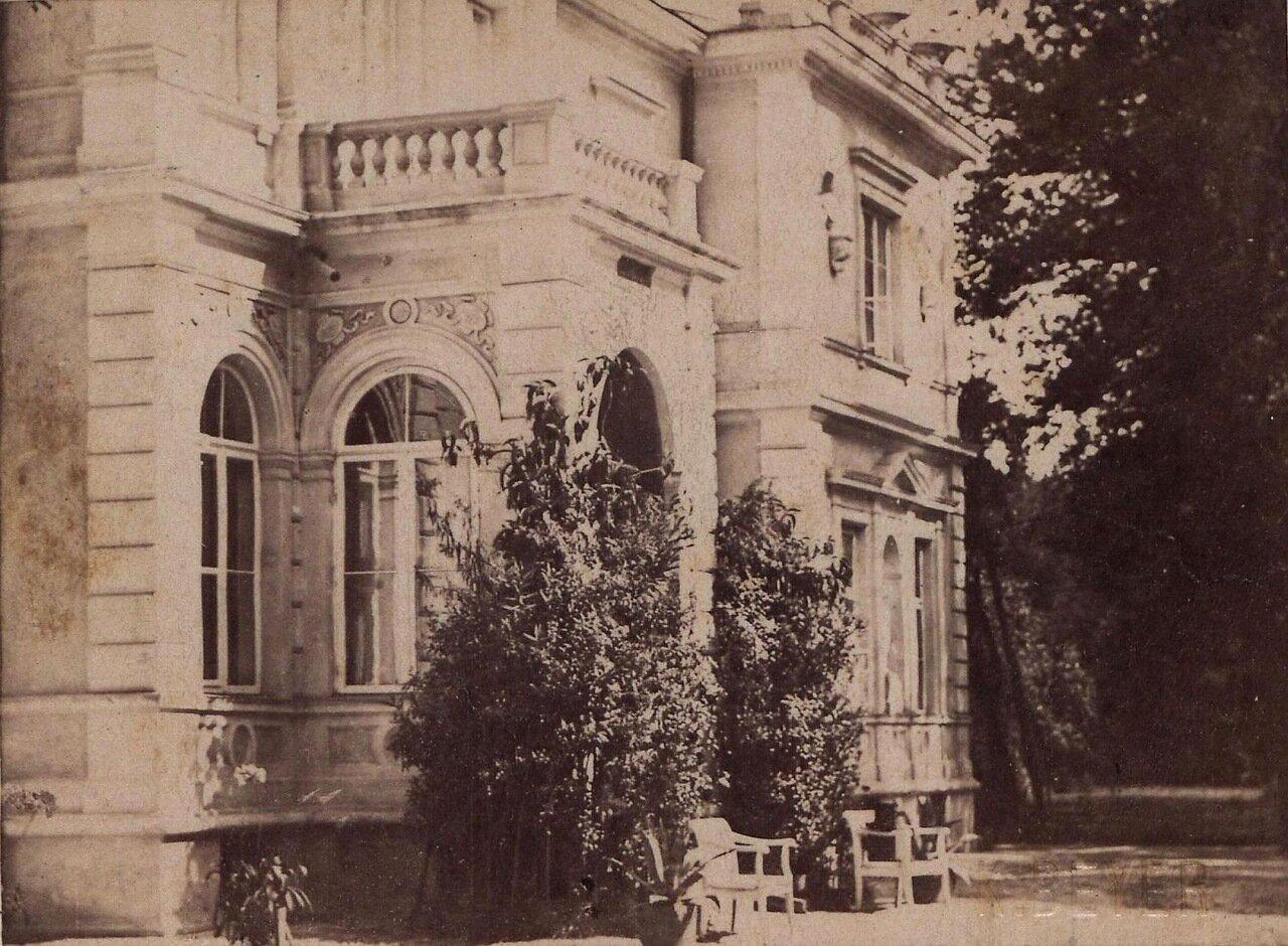 Фрагмент одного из дворцов Варшавы. 1890-е