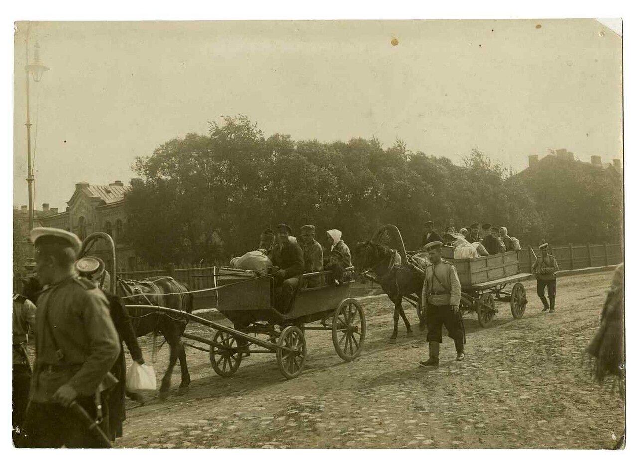 4 сентября 1906. Отправка заключенных из Петропавловской крепости в Сибирь