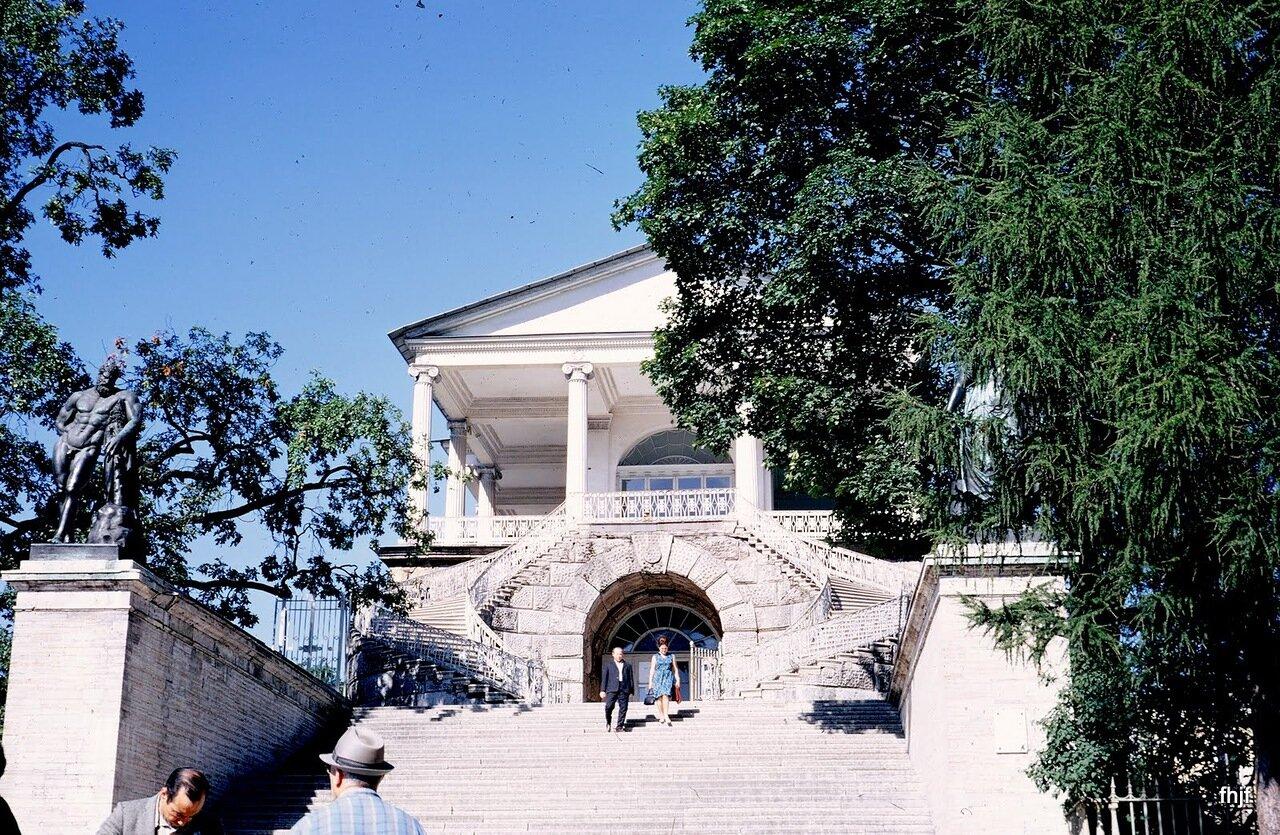 Cameron Gallery steps - Kodachrome