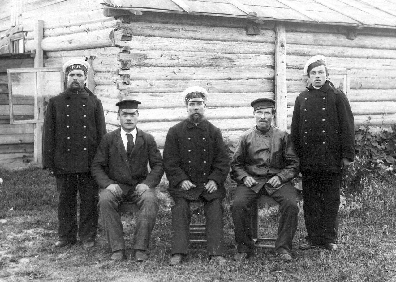Группа рабочих Ладожского канала