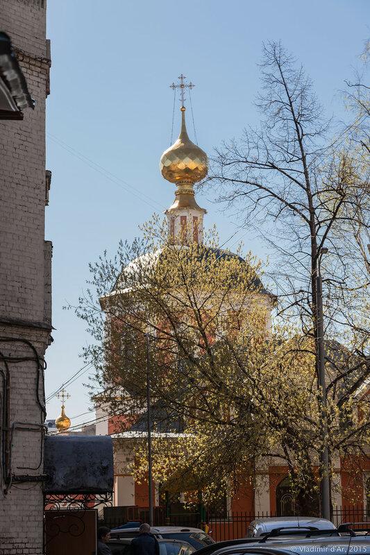 Храм Живоначальной Троицы в Троицкой слободе