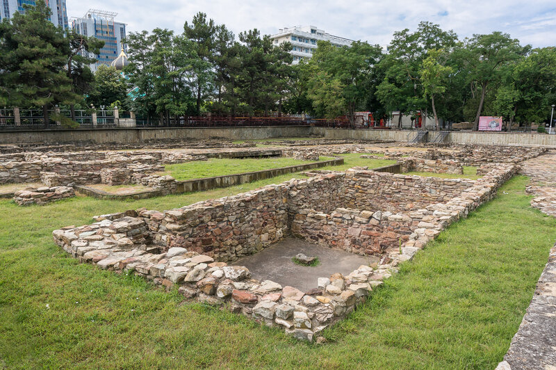 Археологические раскопки в Горгиппии