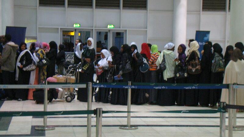 Аддис-Абеба. Аэропорт