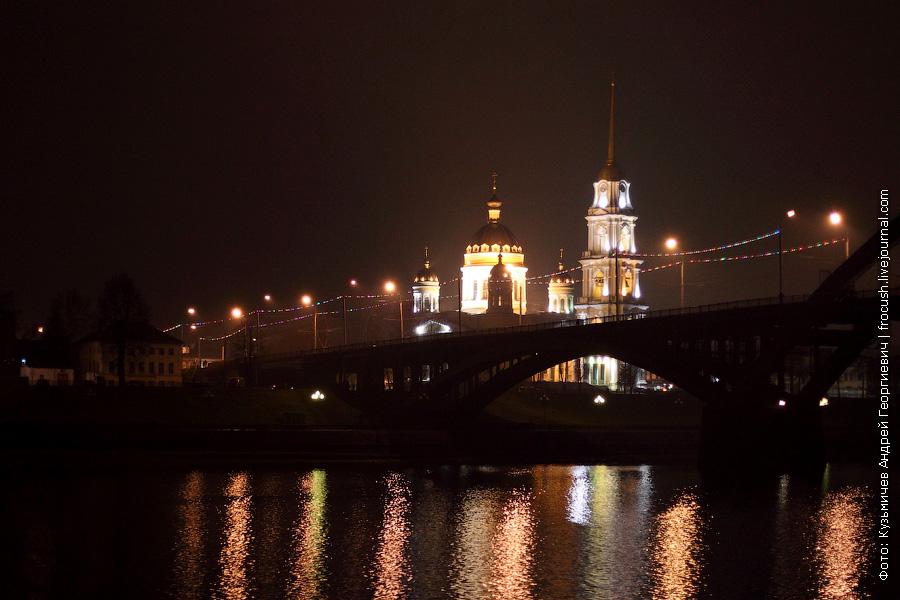 Ночной Рыбинск