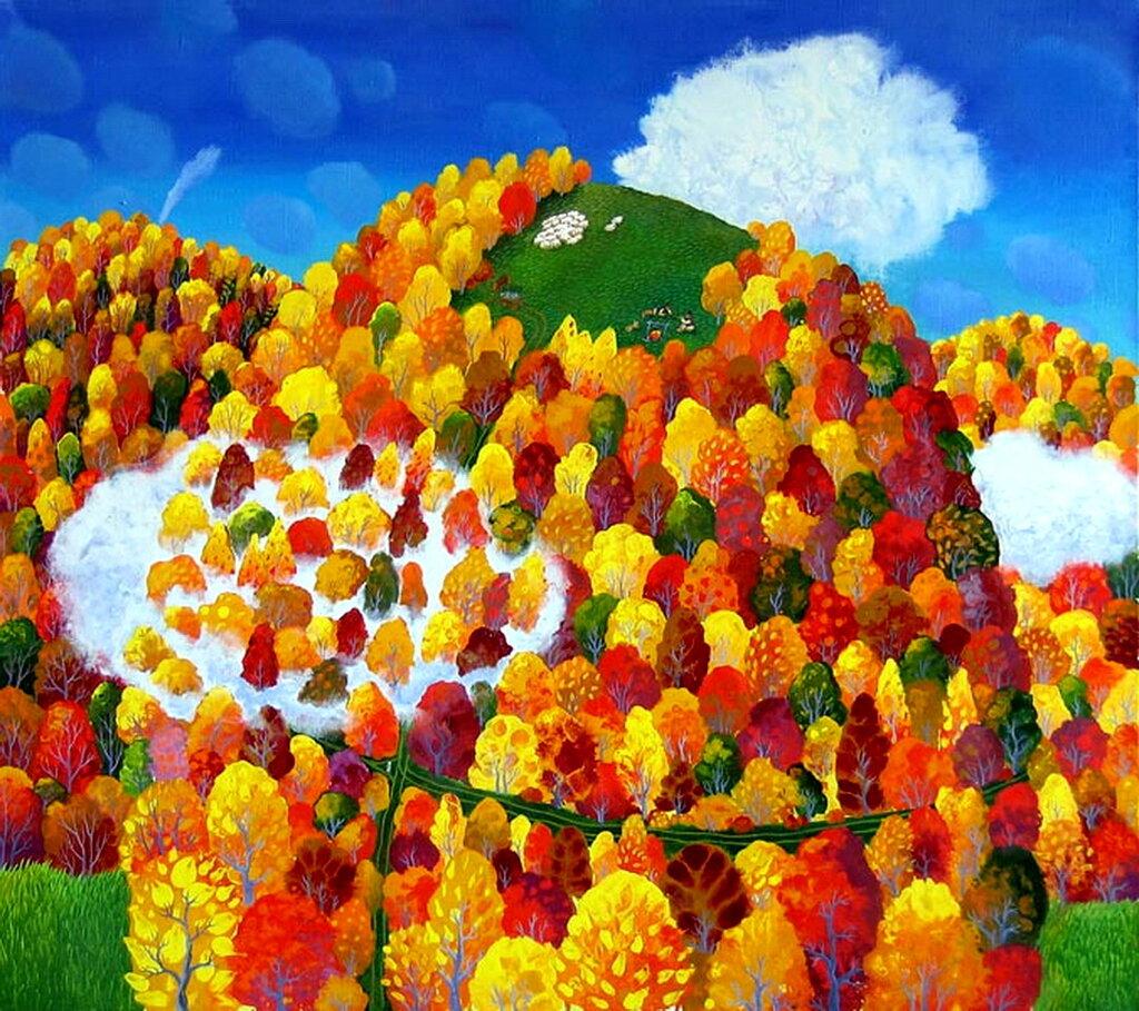 В Карпатах ходит осень...