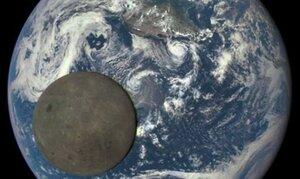 NASA опубликовало снимки обратной стороны Луны