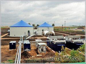 Первый завод по производству биогаза в Молдове