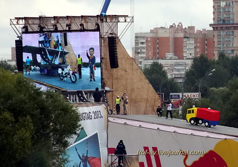 Сабянин, МКАД и пробки, Red Bull Flugtag 2013, Москва