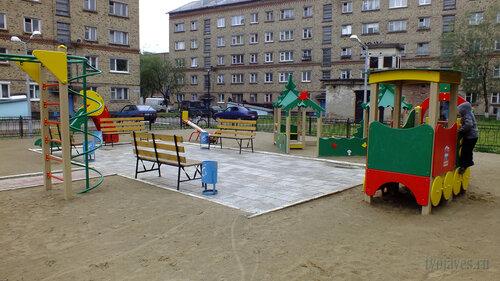 Фото города Инта №5361  Социалистическая 3а и Бабушкина 4 30.07.2013_13:41