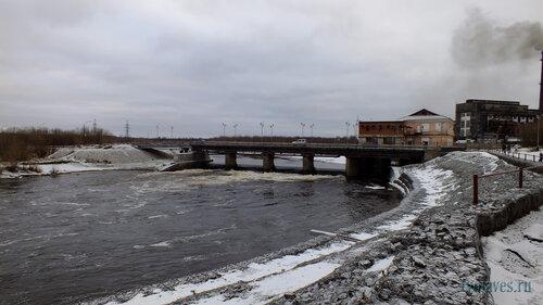 Фотография Инты №6175  Западная сторона моста ТЭЦ 10.11.2013_13:19
