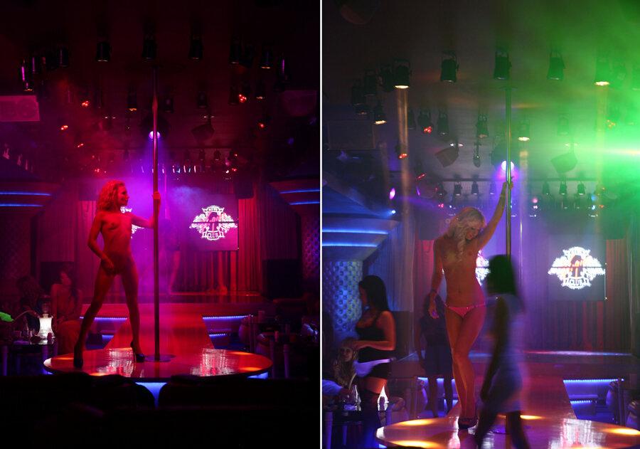 Эротический стрептиз в клубе фото 368-636