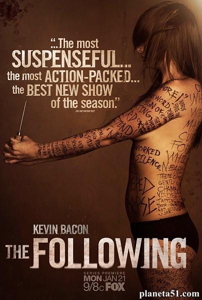 Последователи (1 сезон: 1-15 серии из 15) / The Following / 2013 / ПД (Кубик в Кубе), СТ / WEB-DL (1080p)