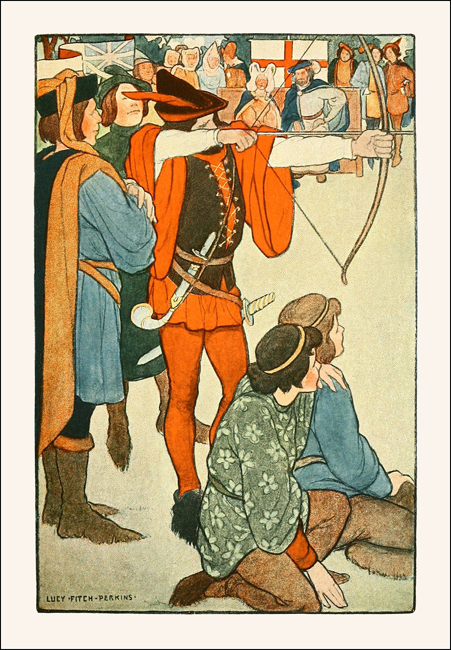 Lucy Fitch Perkins, Robin Hood