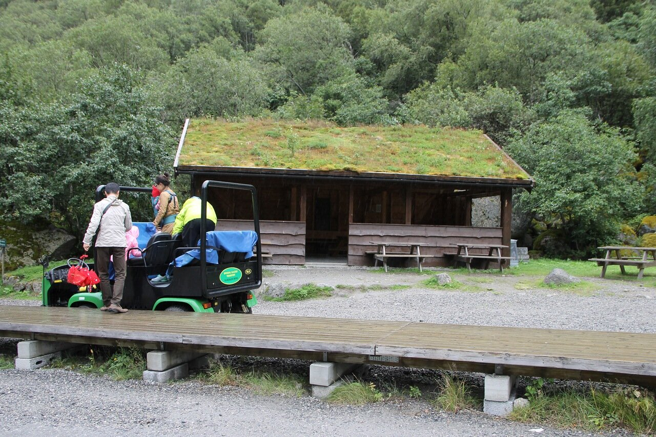 Поход к Леднику Бриксдалсбреен. Walking tour to Briksdalsbreen glacier