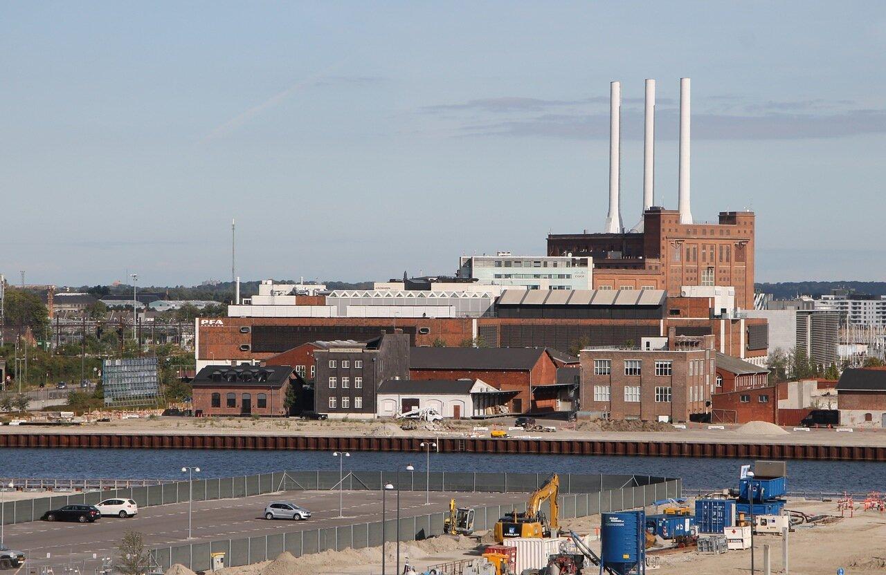 the port of Copenhagen Port Copenhagen,