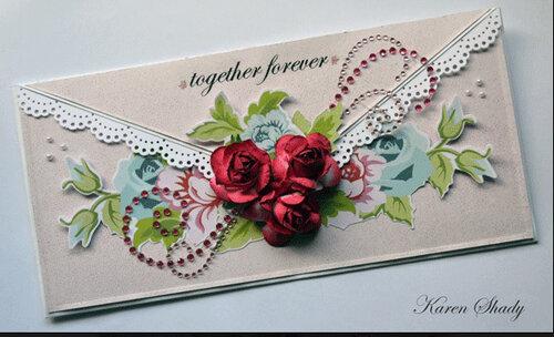 Бумажные творения Karen Shady