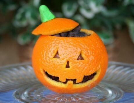 Апельсиновый Джек фонарь