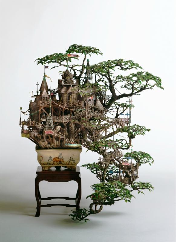 Фантастические работы Aiba Takanori