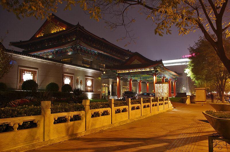 По вечернему Пекину