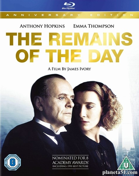 На исходе дня / The Remains of the Day (1993/HDRip)