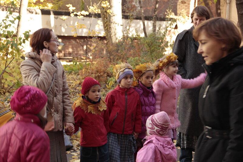 Детский праздник во дворе дома Ярошенко на Хитровке
