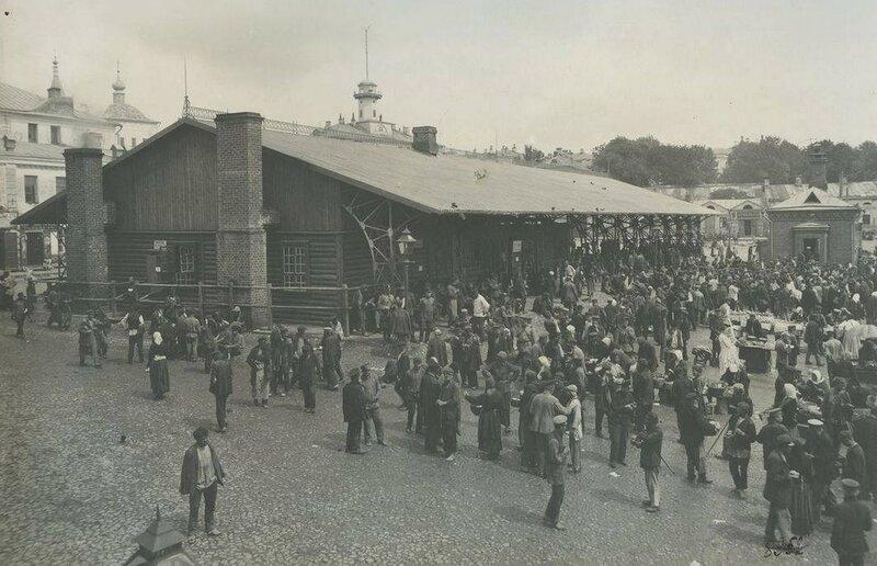 Хитровская площадь. 1906 год