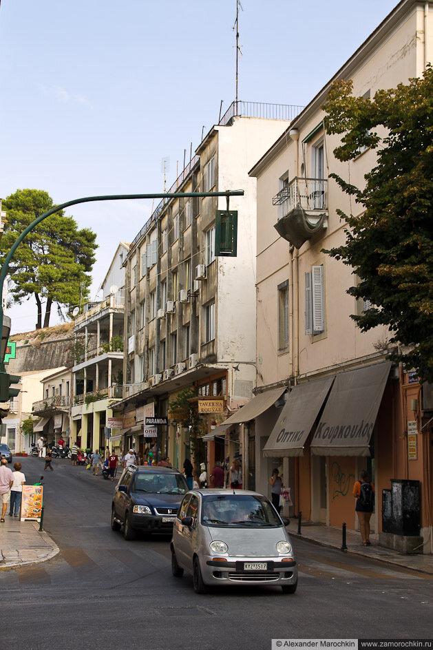 Улицы Керкиры