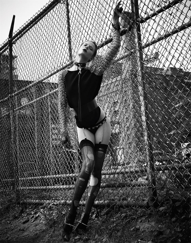 Современный панк-стиль - Марта Стрек / Martha Streck by Manolo Campion in V Magazine