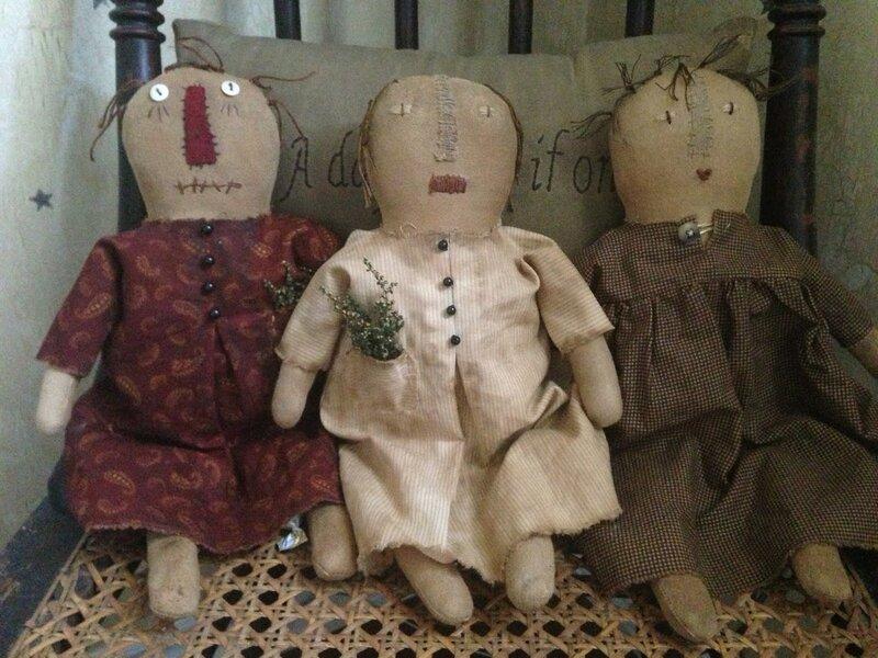 куклы примитивы