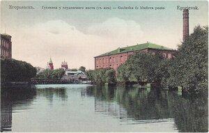 Гуслянка у Хлудовского моста (с юга)