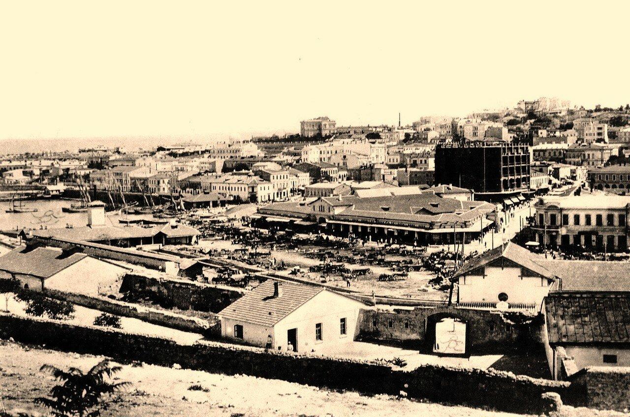 Вид на Базарную площадь