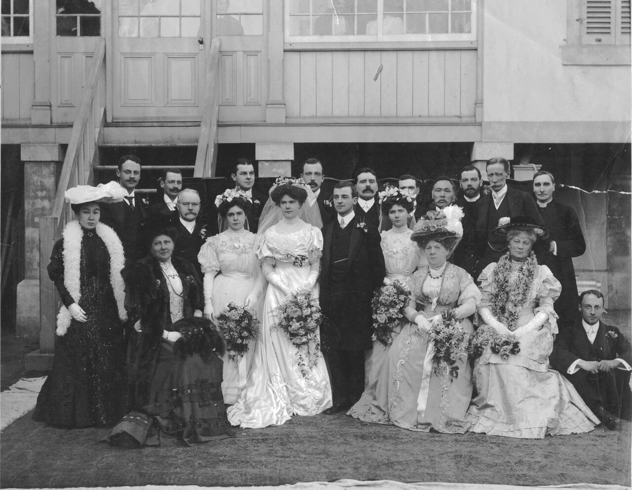 1908.02.15. Свадьба Освальда Уайта и Кэтлин Холл