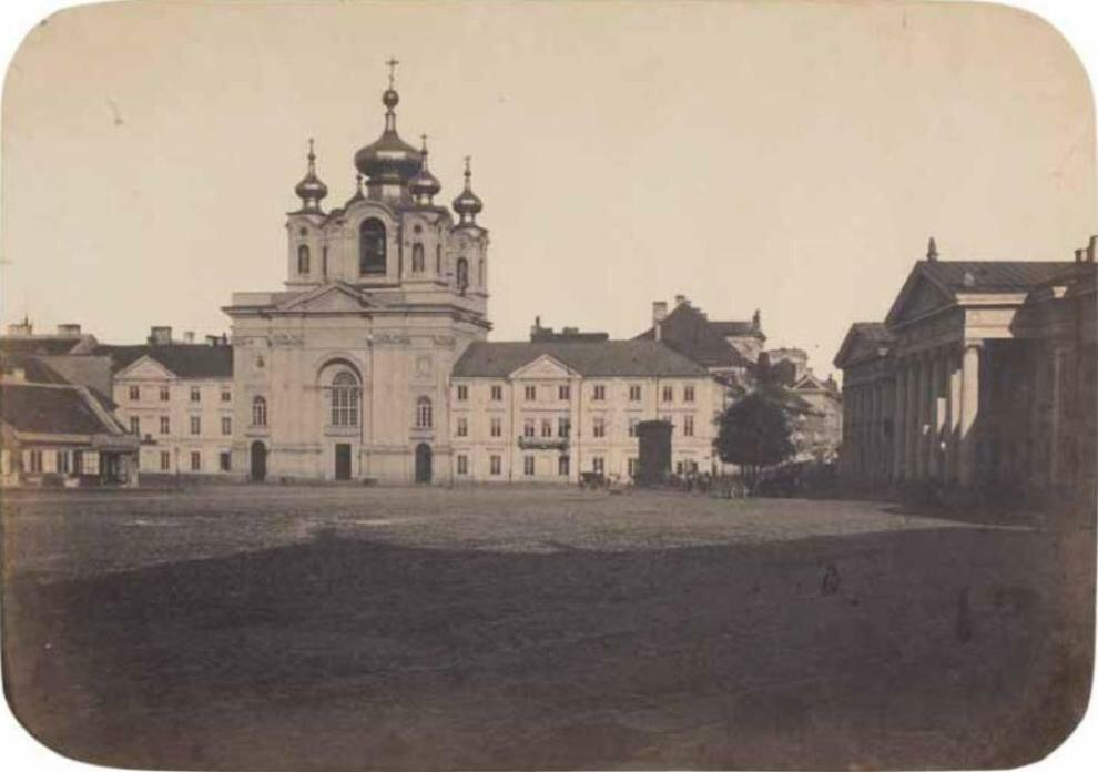 Площадь Красинского 1858