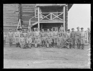 1919, лето. Троицко-Петровск. русская армия
