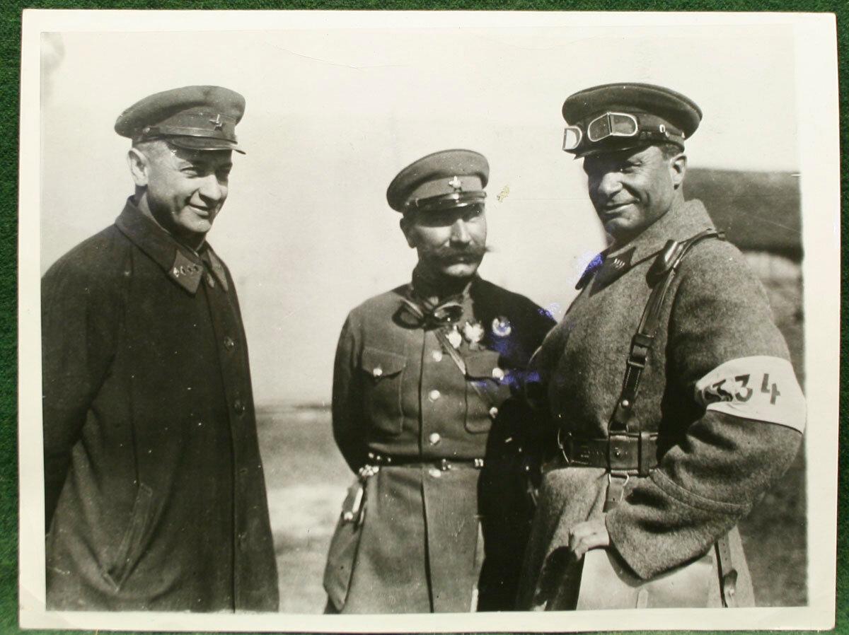1929. Тухачевский, Будённый, Егоров