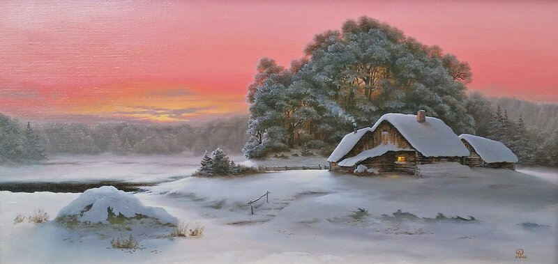 Зимнее утро ...
