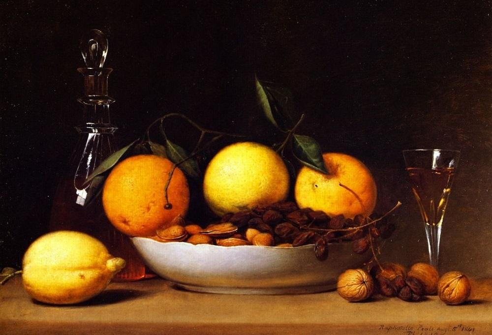 Рафаэль Пил. Десерт. 1814