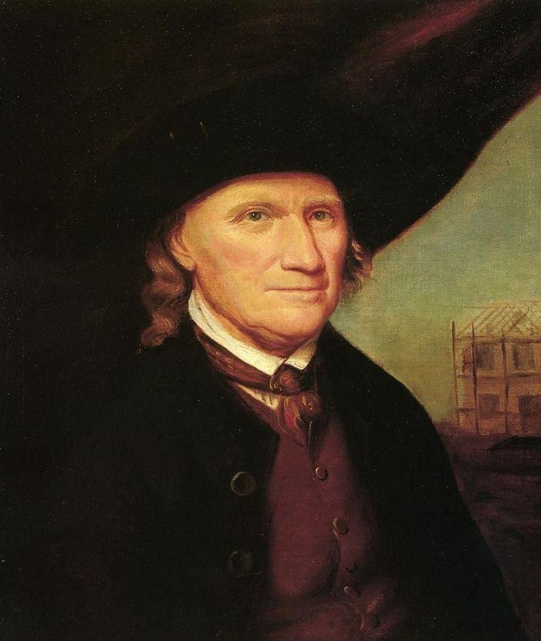 Рафаэль Пил. Мэтью Макглезери. 1795