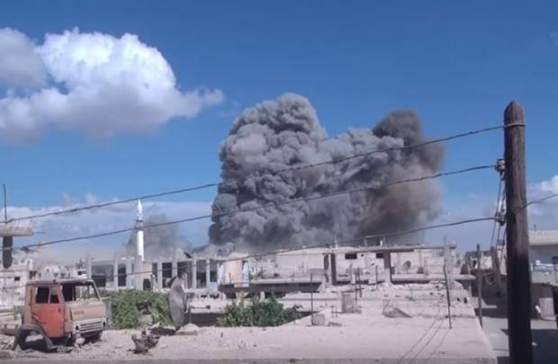 Погибли 11 человек: Россия нанесла очередные авиаудары в Сирии