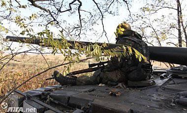 С начала суток ранено 8 украинских военнослужащих, - штаб АТО
